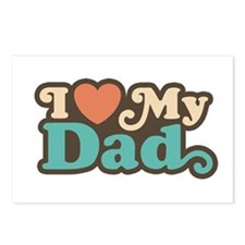 I Love My Dad Postcards (Package of 8)