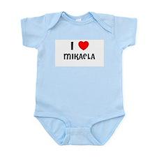 I LOVE MIKAELA Infant Creeper