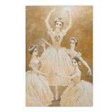 Pas de Quatre Ballet Postcards (Package of 8)