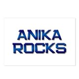 anika rocks Postcards (Package of 8)