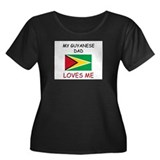 My GUYANESE DAD Loves Me Women's Plus Size Scoop N
