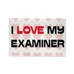 I Love My Examiner Rectangle Magnet (10 pack)