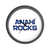 anahi rocks Wall Clock