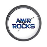 amir rocks Wall Clock