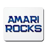 amari rocks Mousepad