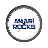 amari rocks Wall Clock