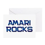 amari rocks Greeting Cards (Pk of 20)