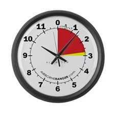 Altimeter Large Wall Clock