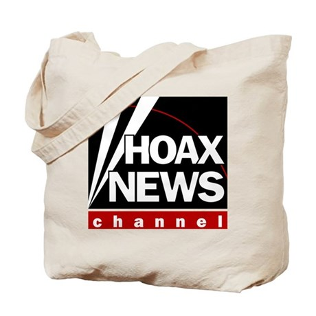 Hoax News Tote Bag