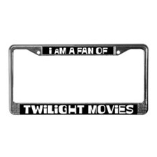 I am a fan of Twilight Movies License Plate Frame