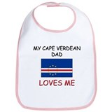 My CAPE VERDEAN DAD Loves Me Bib