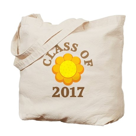 Sunflower Class Of 2017 Tote Bag