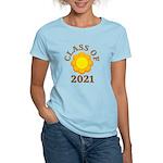 Sunflower Design Class Of 2021 Women's Light T-Shi