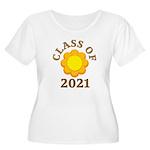 Sunflower Design Class Of 2021 Women's Plus Size S