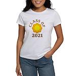 Sunflower Design Class Of 2021 Women's T-Shirt