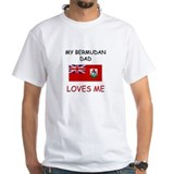 My BERMUDAN DAD Loves Me Shirt
