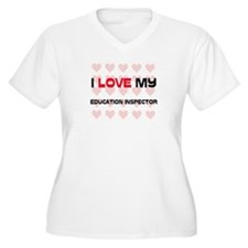 I Love My Education Inspector T-Shirt