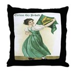 Eirinn Go Brach Throw Pillow