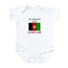 My AFGHAN DAD Loves Me Infant Bodysuit