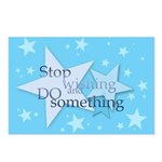 Stop Wishing and Do Something Postcards (Package o