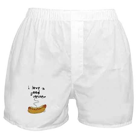 I Love a Good Weiner Boxer Shorts