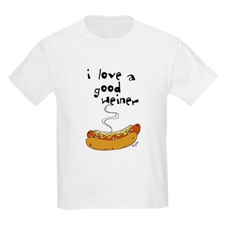 I Love a Good Weiner Kids T-Shirt