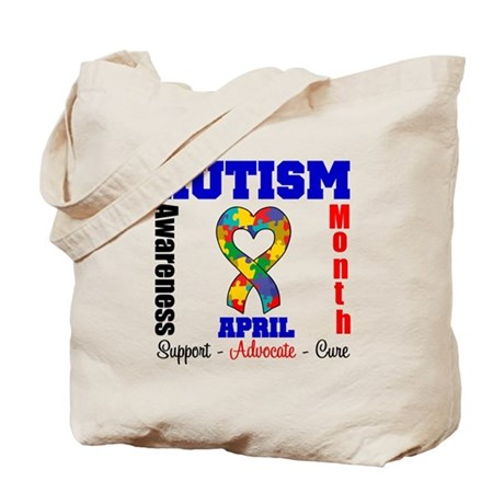 Autism Awareness Month Tote Bag