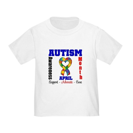 Autism Awareness Month Toddler T-Shirt