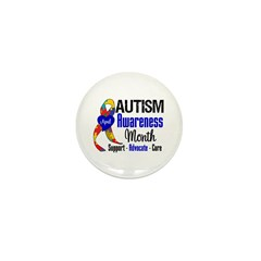Autism Awareness Month Mini Button (10 pack)