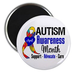 "Autism Awareness Month 2.25"" Magnet (10 pack)"