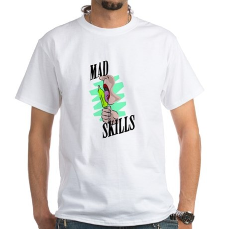 Mad Skills White T-Shirt