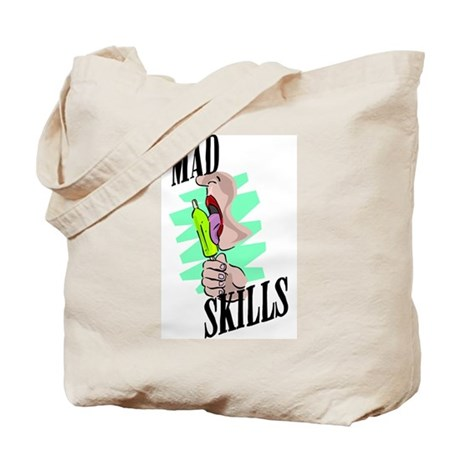 Mad Licking Skills Tote Bag