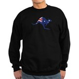 australian flag kangaroo Jumper Sweater