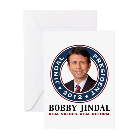 Bobby Jindal President 2012 Greeting Card