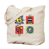 Color Block 60 Tote Bag