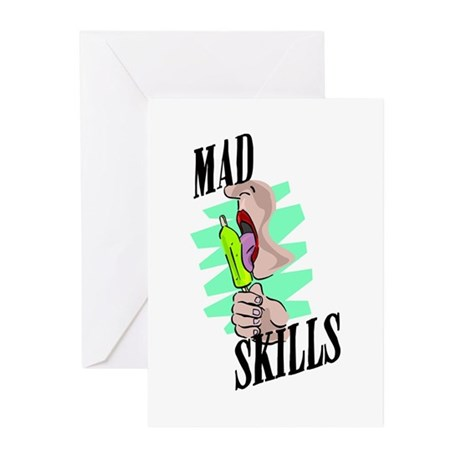 Sexy Mad Skills Greeting Cards (Pk of 10)