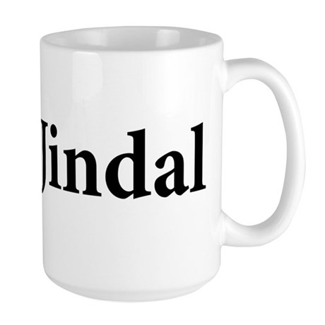 Vote 4 Jindal Large Mug