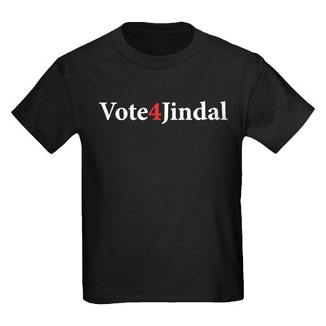 Vote 4 Jindal Kids Dark T-Shirt