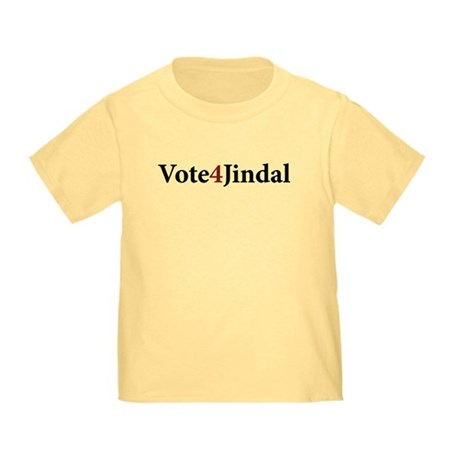 Vote 4 Jindal Toddler T-Shirt