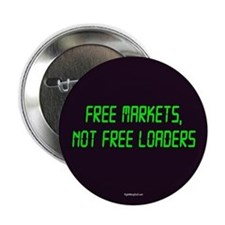 """Free Markets 2.25"""" Button (10 pack)"""