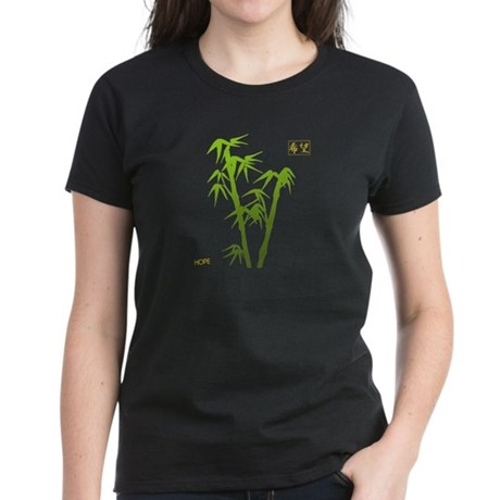 Bamboo Hope Women's Dark T-Shirt