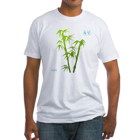 Bamboo Hope Fitted T-Shirt