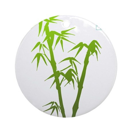 Bamboo Hope Ornament (Round)