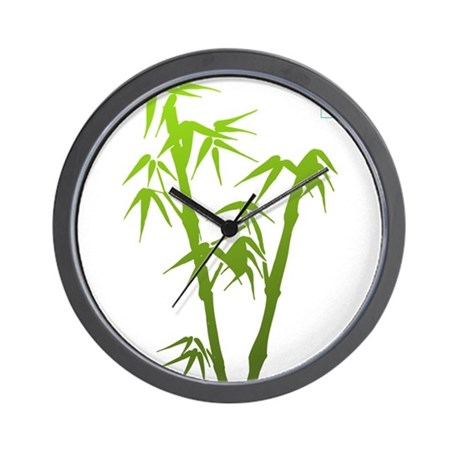 Bamboo Hope Wall Clock