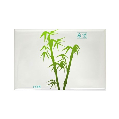 Bamboo Hope Rectangle Magnet (10 pack)