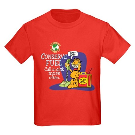 Conserve Fuel Kids Dark T-Shirt