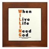 WILLING Framed Tile