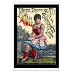 Tattooed Lady Aimee Vintage Advertising Print Post