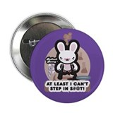 Bad Luck Bunny 2.25&quot; Button