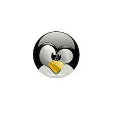 Unique Penguin Mini Button (10 pack)